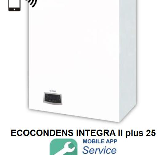 Caldaia a condensazione con bollitore integrato ECOCONDENS INTEGRA II plus